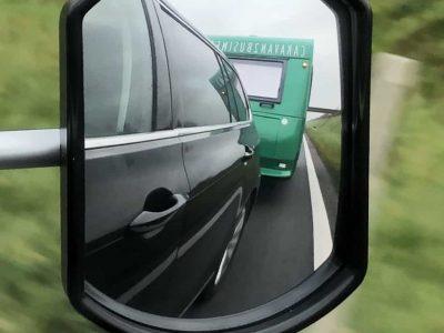 Caravan onderweg
