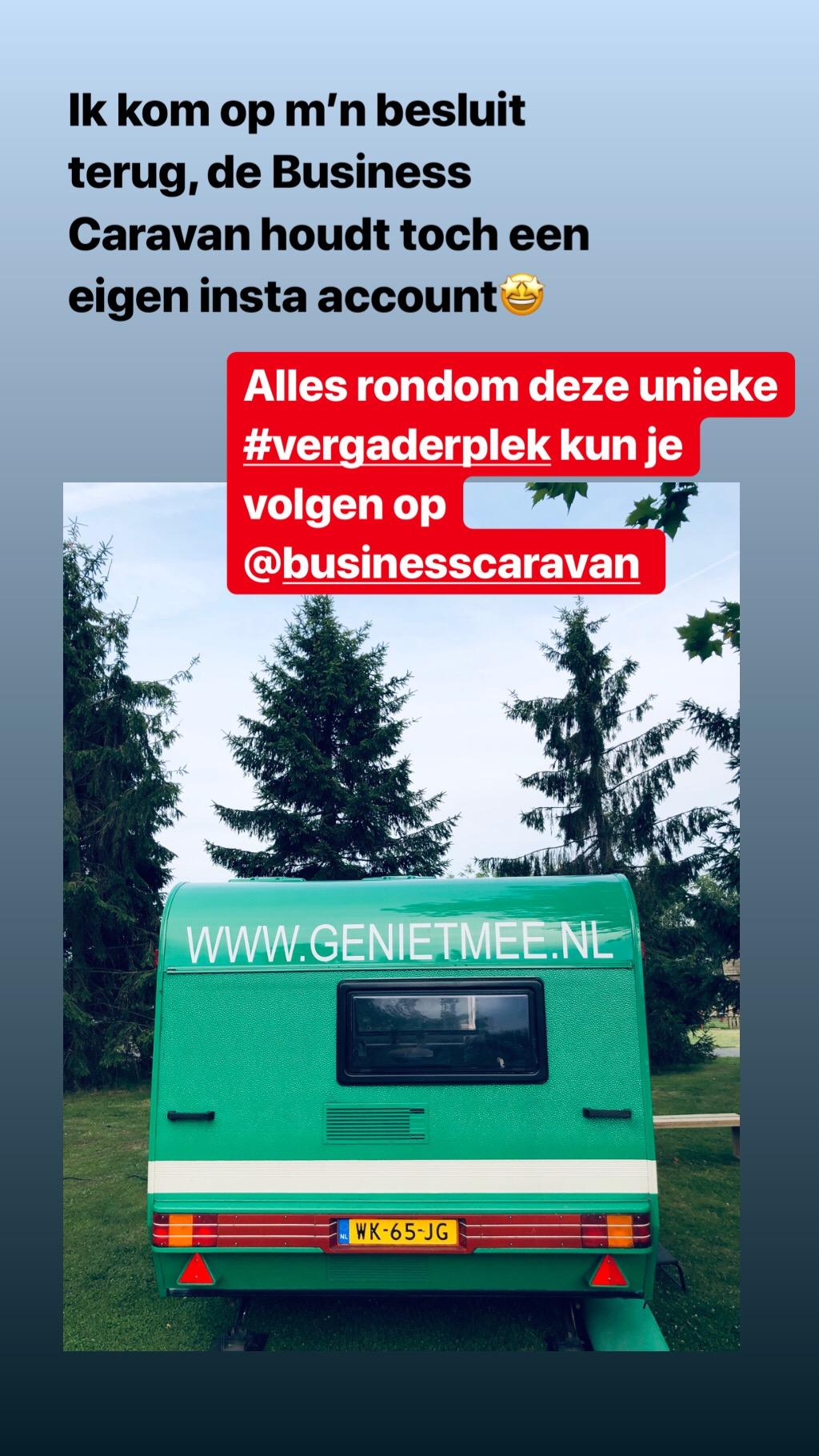 Instagramaccount Business Caravan
