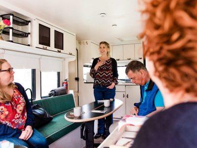 Training in de Business Caravan