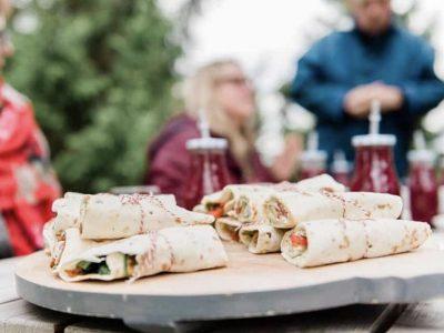 Vega lunch Business CAravan