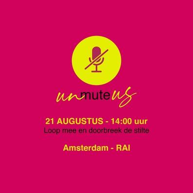 Unmute Us! ook voor zakelijke evenementen